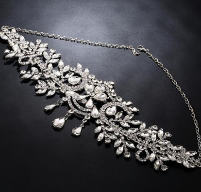 bridal Hairbands Crystal Headbands women Hair Jewelry Wedding accessories crystal Tiaras And Crowns Head Chain - CelebritystyleFashion.com.au online clothing shop australia