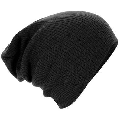 Women Men Unisex Knitted Winter Cap Casual Beanies Solid Color Hip-hop Snap Slouch Skullies Bonnet beanie Hat Gorro - CelebritystyleFashion.com.au online clothing shop australia