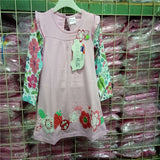 Girls flower frocks children clothes hot dresses baby dresses long sleeve baby clothes - CelebritystyleFashion.com.au online clothing shop australia