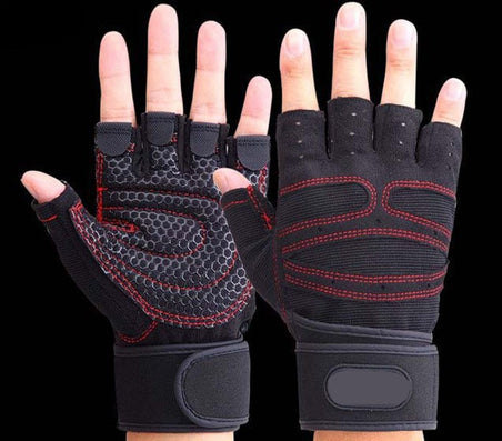 Sports Gym Gloves Half Finger Breathable Weightlifting Fitness Gloves Dumbbell Men Women Weight lifting Gym Gloves Size M/L/XL - CelebritystyleFashion.com.au online clothing shop australia
