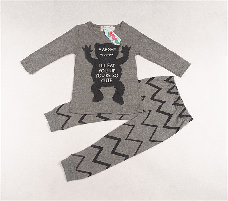 b273f47c3 Toddler Baby Girls Rompers Autumn Baby Boys Clothing Sets Spring ...