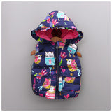 Spring Girls Clothing Fashion Girls Printing Full Sleeve Jackets Outerwear New Toddler Girls Hooded Coats - CelebritystyleFashion.com.au online clothing shop australia