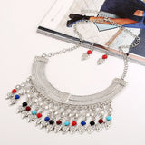 New Fashion Bohemian Tassel Power Necklace Long Colar Choker Necklace Vintage Gypsy Ethnic Maxi Women necklace Fine Jewelry - CelebritystyleFashion.com.au online clothing shop australia