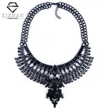 Big Women Collier Femme Necklaces Pendant Black Statement Bijoux Fashion Crystal Jewelry Choker Maxi Boho Vintage Jewelry - CelebritystyleFashion.com.au online clothing shop australia