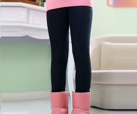 Winter Autumn Thick Warm Girls Leggings kids Pants Children Clothing Flower Butterfly childrens Pants - CelebritystyleFashion.com.au online clothing shop australia