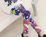Girls Leggings Brand Children Leggings Spring Summer Print Color Skinny Kids Leggings for Girls Pants 18Colors - CelebritystyleFashion.com.au online clothing shop australia