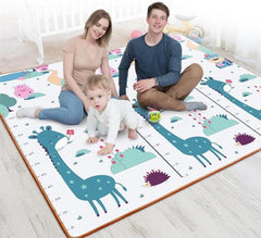 Baby Crawling Mat Thick Living Room Children's Home Foam Animals Play Mat Moisture-proof Game Gym Rug Kids Carpet