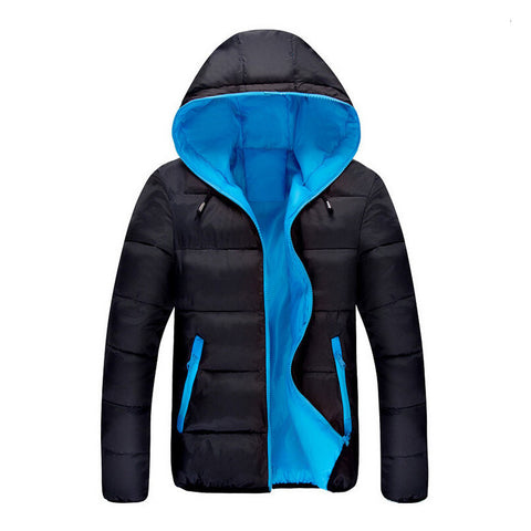 Fashion Casual winter jacket men Coat Comfortable&High Quality Jacket 3 Colors Plus Size XXXL - CelebritystyleFashion.com.au online clothing shop australia