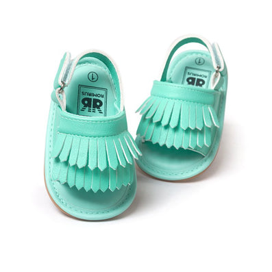 Baby Sandals Summer Leisure Fashion Baby Girls Sandals of Children PU Tassel Shoes 7Colors - CelebritystyleFashion.com.au online clothing shop australia