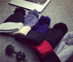 Beanies Knit Hat For Men Women Skullies Winter Hat Men's Bonnet Solid Cap Brand Warm Beanie Ski Hip-Hop Casual Hat - CelebritystyleFashion.com.au online clothing shop australia