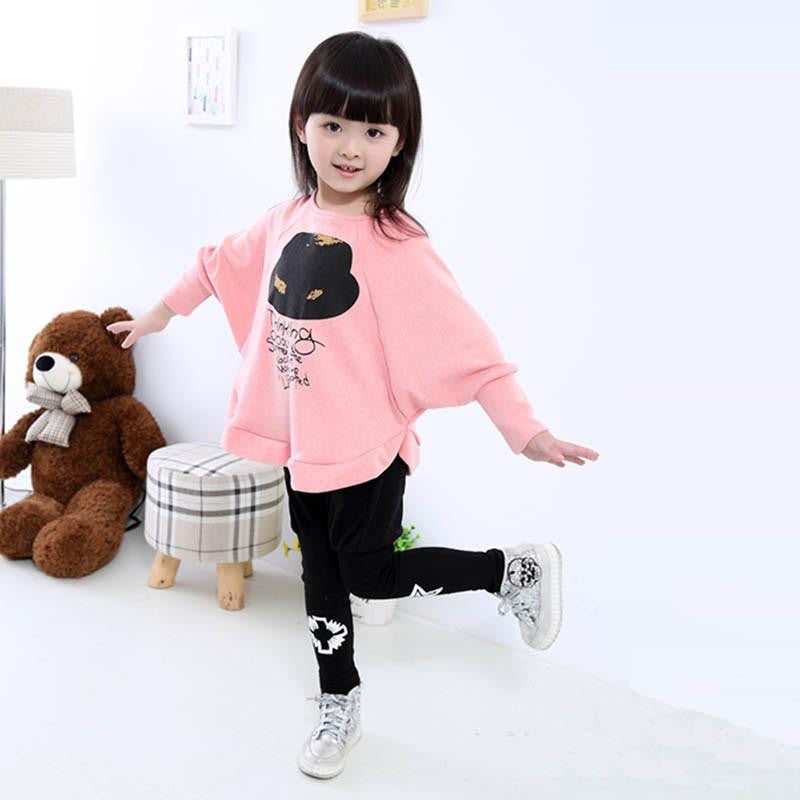 Pink / 3T4-7Y Girls Girl Blouse For Girls Long Sleeve Shirts Spring & Autumn Fashion Shirt Kids Clothes