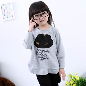 4-7Y Girls Girl Blouse For Girls Long Sleeve Shirts Spring & Autumn Fashion Shirt Kids Clothes - CelebritystyleFashion.com.au online clothing shop australia