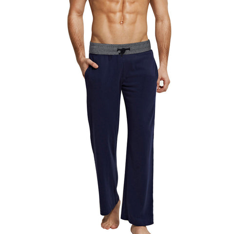 Men's Casual Trousers Soft Men's Sleep Pants Homewear Lounge Pants Pajama Casual Loose Home Clothing S~6XL K5208 - CelebritystyleFashion.com.au online clothing shop australia