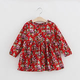 Autumn Long Sleeve Girl Dress Spring New Casual Style Baby Girl Dresses Girls Clothes Summer Dress for Kids Clothes 8 Colors - CelebritystyleFashion.com.au online clothing shop australia