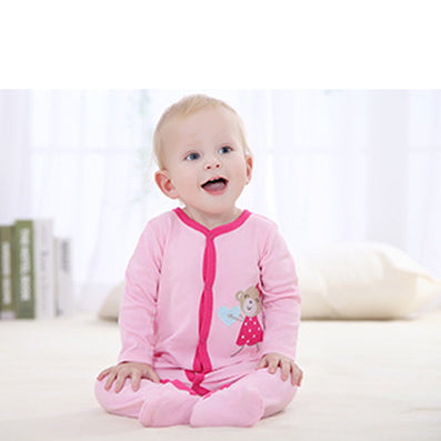 Newborn Baby Girl Clothes Baby Romper Body Suit Cartoon Cheap Long Sleeve Clothes - CelebritystyleFashion.com.au online clothing shop australia