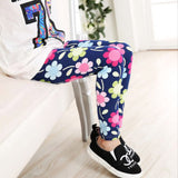 2-7years kids fashion cute cat leggings girls lovely flower leggings children long sleeve skinny pants - CelebritystyleFashion.com.au online clothing shop australia