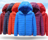 High Quality Winter Child Boy Down Jacket Parka Big Girls Warm Coat Light Hooded Outerwears - CelebritystyleFashion.com.au online clothing shop australia