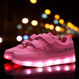Led luminous Shoes For Boys girls Fashion Light Up Casual kids 7 Colors Outdoor new simulation sole Glowing children sneaker - CelebritystyleFashion.com.au online clothing shop australia