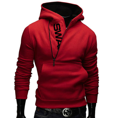 Fashion Men Jacket Plus Size Casual Long Sleeve Solid Color Tops Korean Trend Slim Hombre sweatshirt Zipper coat M-6XL LB - CelebritystyleFashion.com.au online clothing shop australia