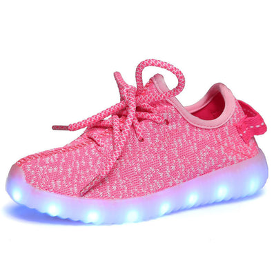 New fashion light up kids led shoes luminous girl boys shoes color glowing casual with simulation sole charge for Childrens - CelebritystyleFashion.com.au online clothing shop australia