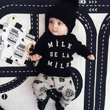 Toddler Baby Boys Clothes Set Long Sleeve T shirt+Pants Outfit Suit Newborn Kids Girls Clothing Sets Christmas Costume - CelebritystyleFashion.com.au online clothing shop australia