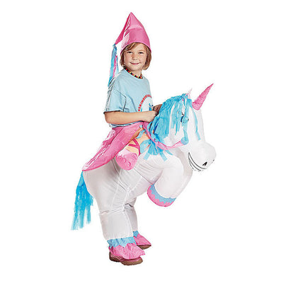 Inflatable Unicorn Costumes Inflatable Princess Outfit Suit Party Fancy Dress Halloween Purim Costume for Kids Women Men Adult - CelebritystyleFashion.com.au online clothing shop australia