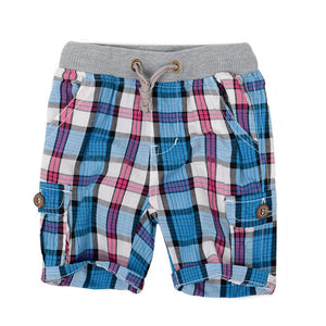 Baby fashion summer children's clothing plaid baby boy shorts baby boy pants three color options 2-6 years - CelebritystyleFashion.com.au online clothing shop australia