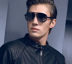 Fashion Men's UV400 sunglasses mirror Eyewear Sun glasses for men with case box - CelebritystyleFashion.com.au online clothing shop australia