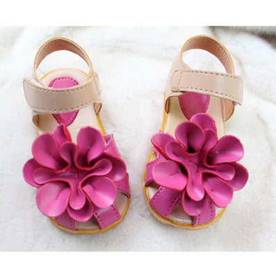 Summer children shoes girls sandals princess beautiful flower Sandals baby Shoes sneakers sapato infantil menina - CelebritystyleFashion.com.au online clothing shop australia