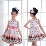 Girls Kids girl dress Princess Bow Tutu Dress One Piece Tops Pageant Tulle shaqun 2-7 years - CelebritystyleFashion.com.au online clothing shop australia