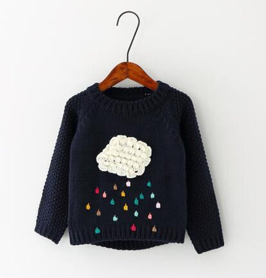 winter children cartoon baby sweater compliance in children's sweaters warm girl long sleeve shirts - CelebritystyleFashion.com.au online clothing shop australia