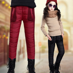 Children's Warm Trousers Winter Girls Plus Velvet Thickening Leggings Thicken Pants For Girl Skinny Girls Leggings - CelebritystyleFashion.com.au online clothing shop australia