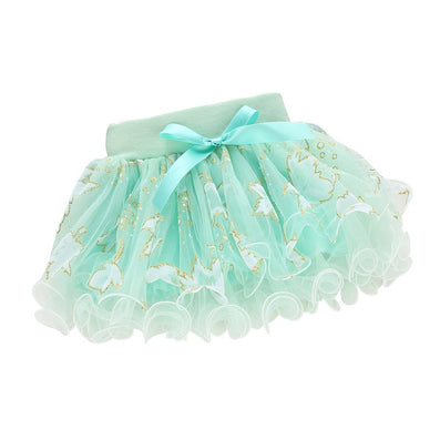 Cute Summer Baby Kids Girls Floral Bowknot Princess Skirt Party Tutu Skirt 1-4Y L07 - CelebritystyleFashion.com.au online clothing shop australia