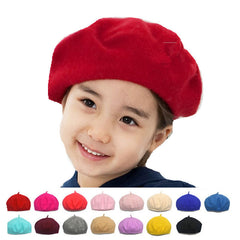 Spring Winter Rainbow The Dome Cap Buds Hat For Children Beret Kids Baby Girls Hat Skullies & Beanies - CelebritystyleFashion.com.au online clothing shop australia