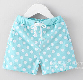 2-10Years Multi Color Toddler Girls Rruffle Shorts Baby Boy Dot Shorts Summer Kids Surf Shorts Children Shorts Garcon BK90 - CelebritystyleFashion.com.au online clothing shop australia