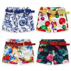 Flower Baby Girls Casual Pants Children Shorts costume Capris Beach Pants Kids Shorts Girls Shorts - CelebritystyleFashion.com.au online clothing shop australia