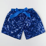 Baby Girls Shorts Golden Sequin Shorts With Bow Summer Children Girls Shiny Short Pants - CelebritystyleFashion.com.au online clothing shop australia