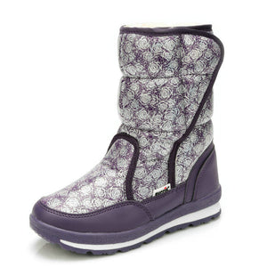 girls boots winter's new kids snow boots kids shoes children warm fur waterproof daughter white brand girls fashion shoes - CelebritystyleFashion.com.au online clothing shop australia
