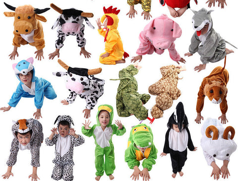 24 Styles Animal Disfraces Cosplay Sets Halloween Costumes For Kids Children's Christmas Clothing Boys Girls clothes 2T-9Y - CelebritystyleFashion.com.au online clothing shop australia