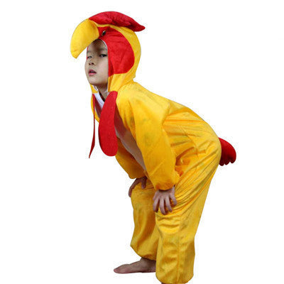 Cock / 6T24 Styles Animal Disfraces Cosplay Sets Halloween Costumes For Kids Children's Christmas Clothing Boys Girls clothes 2T-9Y
