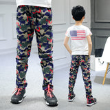 Children Pants For Boys Cotton Casual Children Clothing Fashion Camouflage Sports Pants Boys Spring Kids Clothes For Boys 6-14 Y - CelebritystyleFashion.com.au online clothing shop australia