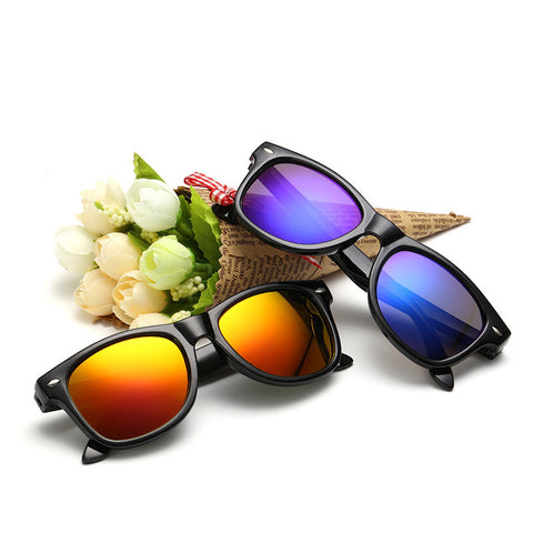 Fashion Children Sunglasses Kids Boy Girl Sun Glasses Plastic Frame 5 Colors Cute Cool Goggles UV400 - CelebritystyleFashion.com.au online clothing shop australia