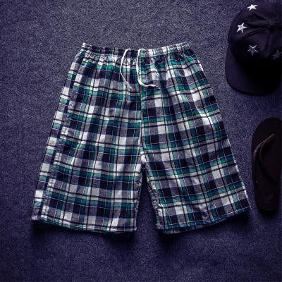 232 / XLMen Shorts Men's Casual Fashion Slim Fit Plus Size Knee Length Summer Shorts Beach Wear High Quality Sportpant Shorts HY95