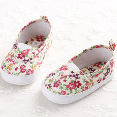 Newest 0-18M Sweet Newborn Baby Girls Flower Shoes Toddler Soft Bottom Kids Crib First Walkers Shoes Zapatos Para Ninas Discount - CelebritystyleFashion.com.au online clothing shop australia