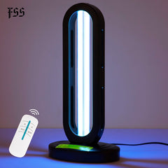 220V Ultraviolet Lamps 38w uv light sterilizer With Ozone Remote Control Disinfection Household Indoor Light Fixtures
