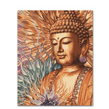 buddha pictures canvas art painting diy oil paint by numbers custom paint by numbers set wall decor seven wall arts