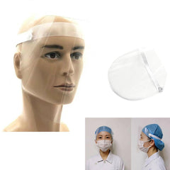 Transparent Protective Face Shield PVC Protection