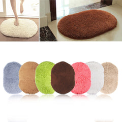360 Rotatable of Super Magic Slip-Resistant Pad Room Oval Carpet Floor mats 40*60CM