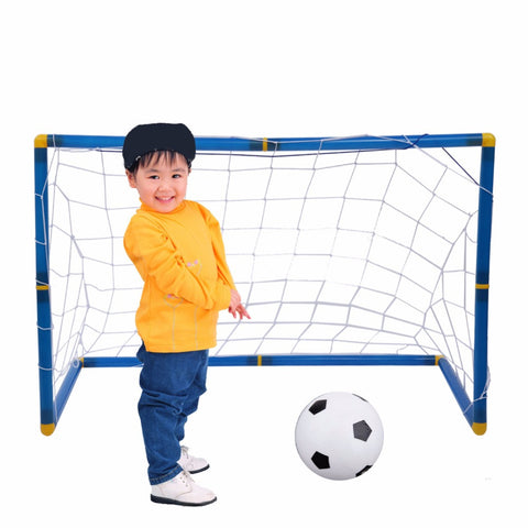 Portable Folding Children Football Goal Door Set Football Gate Outdoor Sports Toys Kids Soccer Door Set