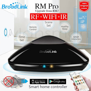 Broadlink RM Pro RM03 Universal Intelligent controller Smart home Automation WIFI+IR+RF remote control for IOS iPad Android